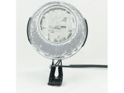 Велосипедный фонарь BUCHEL  halogen для динамо