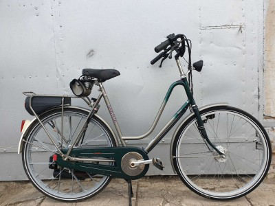Велосипед SPARTA с бензиновым двигателем SACHS