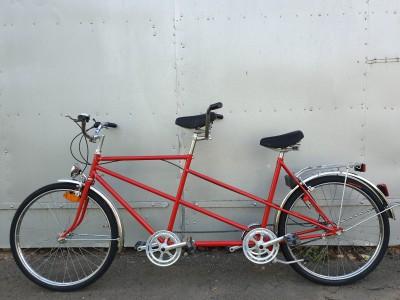 Велосипед ТАНДЕМ (Tandem)для двоих Планетарная втулка -sram t3
