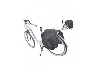 Велосумка на багажник Kands 2-х секционная, 28л, черный