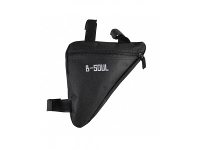 Сумка под раму угловая B-Soul черный
