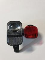 Комплект велосипедных фар AXA visto LED