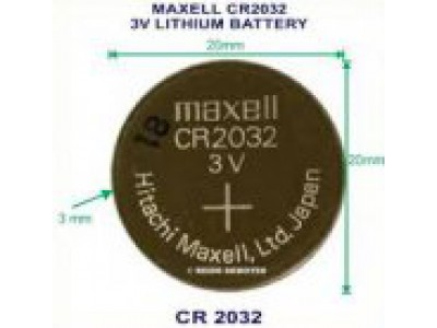 Батарейка литиевая (таблетка) Maxell Japan CR2032