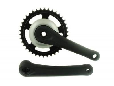 Шатуны ALU для велосипеда с планетарной втулкой на 38 зубов
