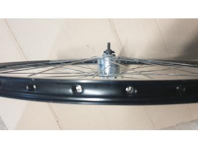 "Колесо 28""взборе с динамо втулка 6v 3w-6w Shimano под дисковый тормоз."