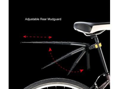 Велосипедные крылья складные portable flinger sw-ps1r