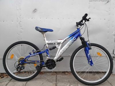 "Велосипед  MOUNTEC двухподвес 24"""