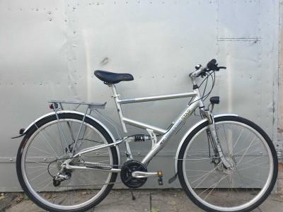 Велосипед ALU TREKKING star двухподвес