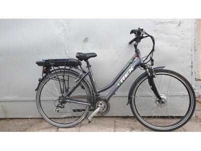 Электровелосипед REX trekking alu 50км+