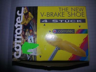 Тормозные колодки Corratec V-brake