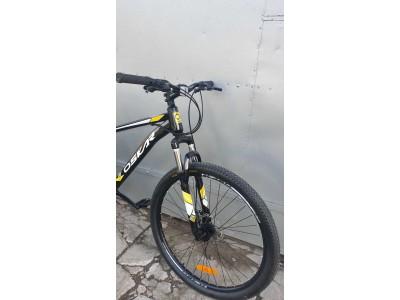 """Велосипед Oskar 27,5"""" модель 1839 Черно-желтый 2019"""