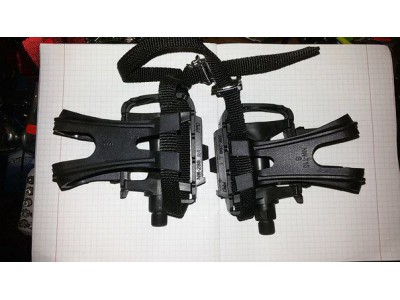Новые Педали FPD NW-288 с туклипсамы NW-T10 (S)
