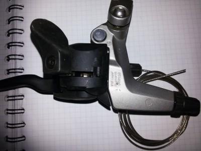 Дуалконтролы, манетки Shimano Deore LX ST-M580 3cк