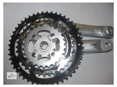Шатун SHIMANO FC-M470 MTB Octalink Hollowtech 48-36-26T 170mm 9-speed